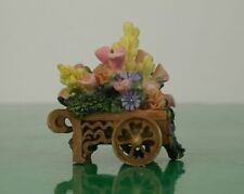 Partylite Flower Cart Only The Clock Tower P7887 Olde World Village
