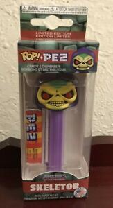 Masters of the Universe Skeletor POP! Pez Dispenser Mint in Box LIMTED ISSUE