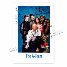 Das A-Team -  TV Series (1983–1987) Kultserie mit George Peppard Autogramm [AK2]