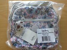 "Kipling KEEFE Crossbody Organizer Bag ""Floral Tapestry"" NWT"