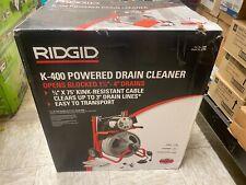 Ridgid 115 Volt K 400 Drain Cleaning Drum Machine With C 32 38in 52363