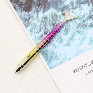 1pc 0.5mm Mermaid Tail Design Gel Pens Black Ink Neutral Pens Kawaii Pen F1