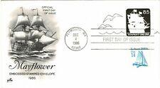 UNITED STATES OF AMERICA USA 1986 8.5c NONPROFIT POSTAGE PAID COVER FDI SHIP
