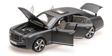 MODIFIED: 1/18 Kyosho Bentley Mulsanne Speed (Metallic Dark Grey Satin) foam box
