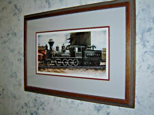 "Constance Legler Smith signed limited edition ""A,T. & S.F"" steam locomotive"