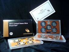 2012 Us Mint Proof Set Complete 14 Coin Set In Original Mint Packaging