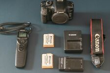 Canon EOS 450D body only (+ intervalometer + 3 batteries + strap + 2 chargers )
