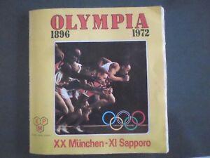 album figurine olympia 1896 1972 panini