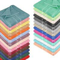 4x Gast + 2x Handtuch + 2x Duschtuch 8 tlg SET Pink FROTTEE 100/% Baumwolle