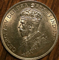 1919 NEWFOUNDLAND SILVER 50 CENTS - Stunning very choice ! Really great!