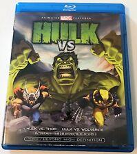 Hulk Vs. Thor / Wolverine (2009) (Blu-Ray) 2 FILMS BD Marvel Animated LionsGate