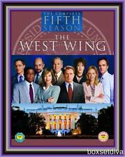 THE WEST WING - COMPLETE SEASON 5 -FIFTH SEASON *BRAND NEW DVD*