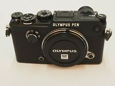 Olympus PEN-F 20.3MP Digitalkamera - Schwarz (Kit mit Nur Gehäuse Objektiv)