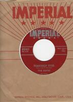 """THE DUKES- """"TEARDROP EYES""""/ """"SHIMMIES AND THE SHAKES""""- IMPERIAL 5401- ORIGINAL"""