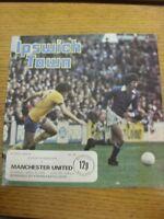 10/04/1976 Ipswich Town v Manchester United  (Crease, Worn, Nicks To Edges). Tha