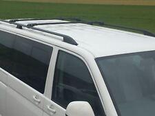 VW T5 TRANSPORTER MULTIVAN CARAVELL on 2003 ANTITHEFT ALUMINIUM CROSS BARS BLACK
