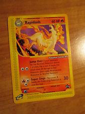NM Pokemon RAPIDASH Card BLACK STAR PROMO Set #51 Center NEW YORK NY Stamped TCG