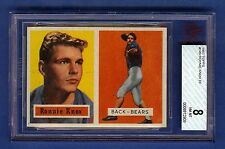 1957 Topps Football Ronnie Knox #149 (Rookie) Chicago Bears BVG 8