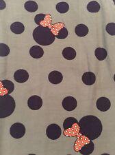 NWT LULAROE TC Disney Gray Purple Coral Polka Dot Bow Minnie Leggings