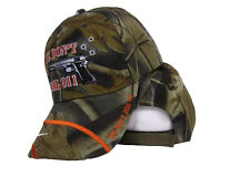 We Don't Dial 911 Pistol And Bullet Holes Camo Camouflage Baseball Ball Cap Hat