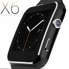 SMARTWATCH OROLOGIO iPhone ANDROID IOS CON SIM BLUETOOTH SMART WATCH X6