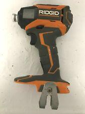 Ridgid R86035 18 Volt Hyper Lithium 3 Speed Impact Driver, VG M