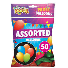 50 Assorted Party Balloons Rubber for Wedding Birthday Hallowneen Christmas W5
