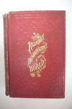 1874 RELIGIOUS DENOMINATIONS OF THE WORLD Illustrated-Catholic Muslim Mormon+++