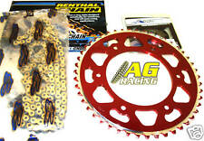 Honda CR 80 CR 85 Chain & Sprocket Set 15T 49T Red