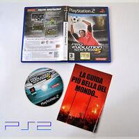 [ PS2 ] Pro Evolution Soccer 5 PAL Usato Senza Manuale Buono