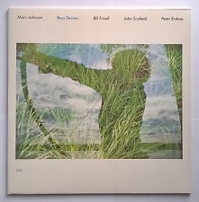 Marc Johnson - Bass Desires (1986) (ECM Records 1299, 827 743-1) VINYL LP