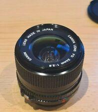 Canon FD 24mm 1:2,8 Objektiv Lens