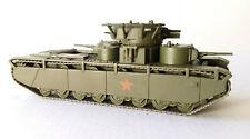 Military Toy Model 1:72 USSR Soviet Tank T-35 Russian Tanks Fabbri