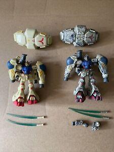 Bandai Mobile Suit Gundam GP-02 Physalis & Battle Scarred Figures MSIA Lot Of 2