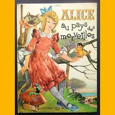 ALICE AU PAYS DES MERVEILLES Lewis Carrol J. Sornani 1963