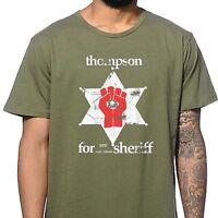 HUNTER S THOMPSON SHERIFF marijuana legalize medical colorado gonzo T-Shirt