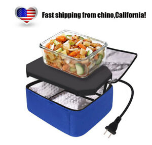 Portable Mini Oven Personal 110v Food Warmer for Office Prepared Meal Reheating