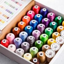 Polyester Embroidery Threads For Hand And Machine Sewing 20000 Meters/Lot Supply