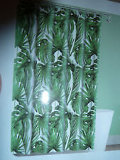 """Pretty Palm Tree Leaves Themed Fabric Shower Curtain , 70""""W"""" X 72""""L,New"""
