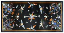 Dining Room Decorative Marble Center Table Top Butterfly Inlay Art Floral H3852