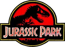 Jurassic Park Logo Embroidered Big Patch Suit Tyrannosaurus Rex 2 3 4 Jeep World