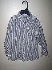 childrens place Boys size Xs 4 shirt long slv button up button down collar gray