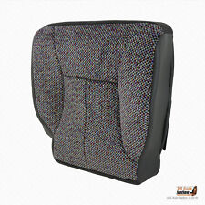 1998-2002 Dodge Ram 1500 2500 3500 SLT -Driver Bottom Cloth Seat Cover DARK GRAY