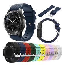 Nosotros para Samsung Gear S3 Frontier/Classic 46mm Banda De Reloj Correa de pulsera de silicona