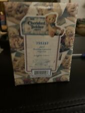 """Cherished Teddies Hillman April Figures Enesco Carousel Horse 755257"