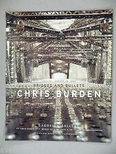 Chris Burden Art Gallery Exhibit PRINT AD - 2003
