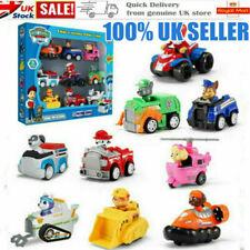 6/9PCS Racer Car Patrol Dog Marshall Rubble Rocky Chase Skye Kids Toys Gifts