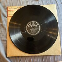 "Bobby Sherwood Cotton Tail/Snap Your Fingers 10"" 78RPM Capitol Vinyl"