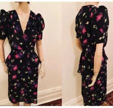 80's does 40's peplum dress by Calhoun