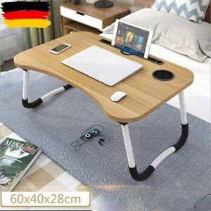 Laptoptisch Notebooktisch klappbar Laptop-Ständer Schlafsofa Bett Tablett NEU